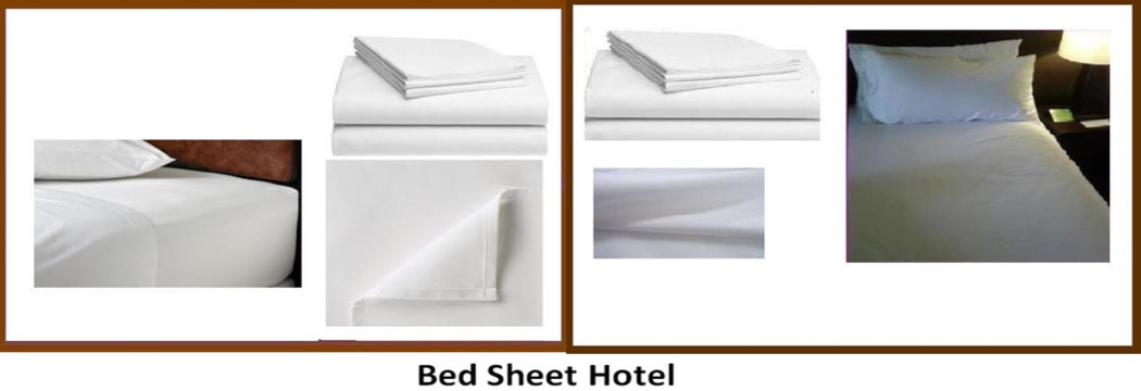 bed sheet hotel